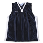 Warrior Lotus Racerback Game Lacrosse Jersey (Navy/White)