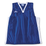 Warrior Lotus Racerback Game Lacrosse Jersey (Roy/Wht)