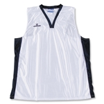 Warrior Lotus Racerback Game Lacrosse Jersey (Wh/Nv)