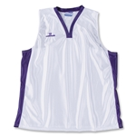 Warrior Lotus Racerback Game Lacrosse Jersey (Wh/Pu)