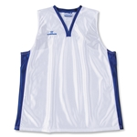 Warrior Lotus Racerback Game Lacrosse Jersey (Wh/Ro)