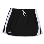 Warrior Plush Game Lacrosse Kilt (Blk/Wht)