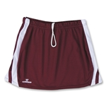 Warrior Plush Game Lacrosse Kilt (Maroon/Wht)