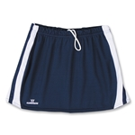 Warrior Plush Game Lacrosse Kilt (Navy/White)