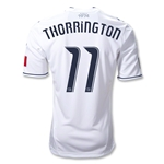 Vancouver Whitecaps 2012 THORRINGTON Authentic Home Soccer Jersey