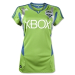 Seattle Sounders FC 2012 Home Women's Soccer Jersey