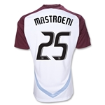 Colorado Rapids 2012 MASTROENI Away Replica Soccer Jersey