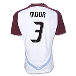 Colorado Rapids 2012 MOOR Away Replica Soccer Jersey