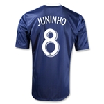New York Red Bulls 2013 JUNINHO Authentic Secondary Soccer Jersey