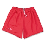 Warrior Essence Game Lacrosse Shorts (Red)