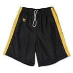 Warrior Velocity Lacrosse Shorts (Bk/Gold)