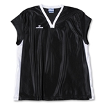 Warrior Women's Lotus Cap Sleeve Lacrosse Jersey (Blk/Wht)