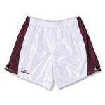 Warrior Women's Lotus Game Lacrosse Shorts (Maroon/Wht)