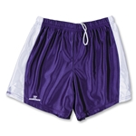 Warrior Women's Lotus Game Lacrosse Shorts (Pur/Wht)