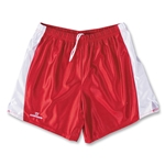 Warrior Women's Lotus Game Lacrosse Shorts (Red/White)