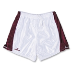 Warrior Women's Lotus Game Lacrosse Shorts (White/Maroon)