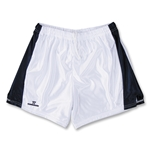Warrior Women's Lotus Game Lacrosse Shorts (White/Navy)