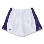 Warrior Women's Lotus Game Lacrosse Shorts (White/Purple)