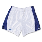 Warrior Women's Lotus Game Lacrosse Shorts (White/Royal)