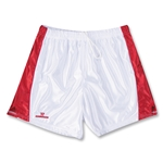 Warrior Women's Lotus Game Lacrosse Shorts (White/Red)