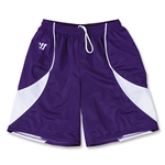 Warrior Impact Lacrosse Shorts (Pur/Wht)