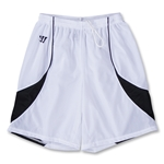 Warrior Impact Lacrosse Shorts (Wh/Nv)