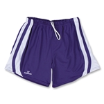 Warrior Lotus Lacrosse Shorts (Pur/Wht)