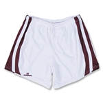 Warrior Lotus Lacrosse Shorts (White/Marroon)
