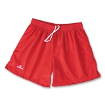 Warrior Collegiate-Cut Women's Lacrosse Practice Shorts (Red)