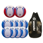 Senda Valor XLS Ball 10 Pack (Sky/Red)