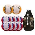 Senda Apex Ball 10 Pack (Red/Yellow)