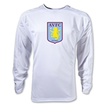 Aston Villa LS Training Jersey (White)