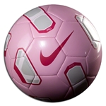 Nike Total90 Pitch Soccer Ball (Pink/Silver)