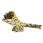 Soccer Ball Fleece Scarf (Yellow)