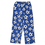 Soccer Ball Warm Lounge Pants (Royal)
