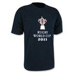 RWC 2011 Webb Ellis Cup T-Shirt (Navy)