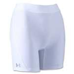 Under Armour Ultra 4 Compression Women's Shorts (White)
