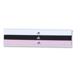adidas Women's Spree Hairband 3 PK (Black/Pink)