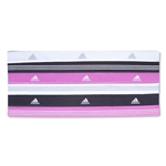 adidas Women's Sidespin Hairband 6 PK (Black/Pink)
