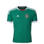 Mexico 11/12 Jersey de Futbol Local Juvenil
