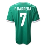 Mexico 11/12 P. BARRERA Jersey de Futbol Local