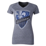 Montreal Impact Originals Women's Fan V-Neck T-Shirt