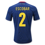Colombia 11/13 ESCOBAR Away Soccer Jersey