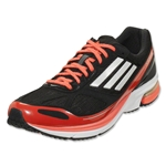 adidas adizero Boston 4 Running Shoe (Black/Metallic Silver/Infrared)