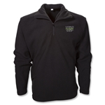 World Rugby Shop 1/4 Zip Fleece Jacket (Black)