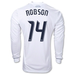 Vancouver Whitecaps 10/11 ROBSON LS Authentic Home Soccer Jersey
