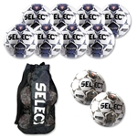 Select Royale Soccer Ball Kit (Wh/Nv)