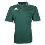 adidas Three Stripe III Rugby Jersey (Dk Green/White)