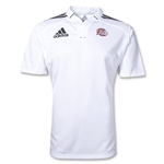 adidas Las Vegas Invitational Three Stripe Jersey (White/Black)