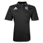 adidas USA Sevens Three Stripe Rugby Jersey (Black/White)